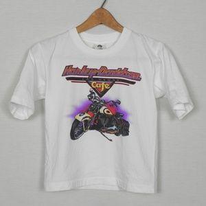 Vintage | Single Stitch Harley Davidson Kids Tee